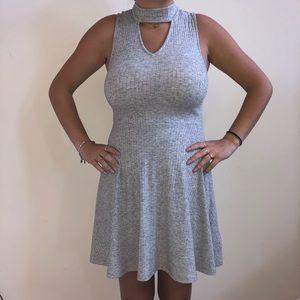 Grey Dress w/ slight turtle neck - xs - worn once
